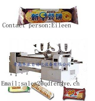 Biscuits Automatic Packing Machine without Pallet