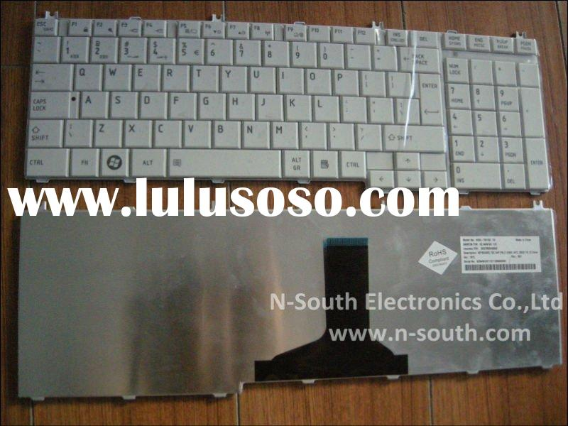 Black Notebook Keyboard for TOSHIBA Satellite C655 C650 L650 C670 L670 White Series US layout