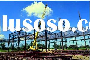 China Galvanized Steel Structure For Storage/Warehouse Workshop/Plant/FactoryWith Low Cost