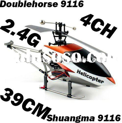 Christmas Gift Double Horse DH 9116 2.4G 4CH 39CM Radio Control Helicopter Shuangma Airplanes RC Toy