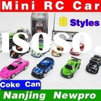 Coke Can mini RC radio remote control micro racing car best gift for kids rc car toy