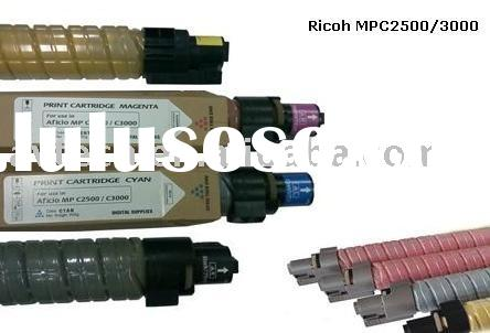 Color copier toner cartridge for Ricoh MPC4500/2500