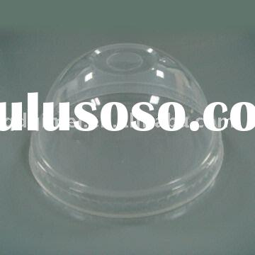 Disposable Biodegradable Clear Tasteless No-harm Non-toxic Eco-friendly PET Blister Juice Cup Dome L