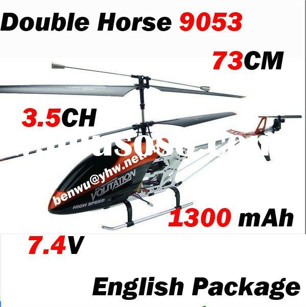 Double Horse 9053 73Cm 3.5CH Rc Helicopter For Adult Toy Plane Gyro Radio Control Metal Helicopter 1