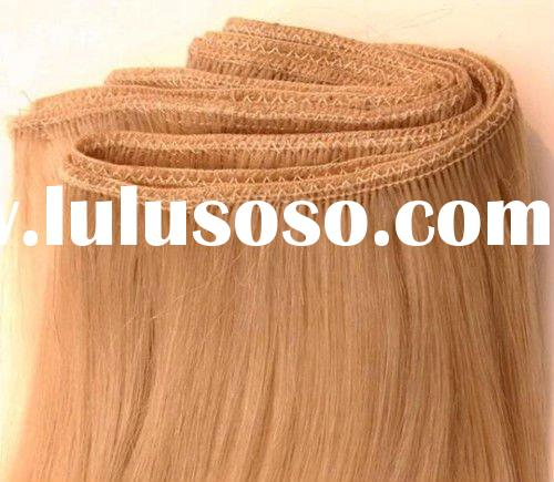 Double weft indian remy human hair extension