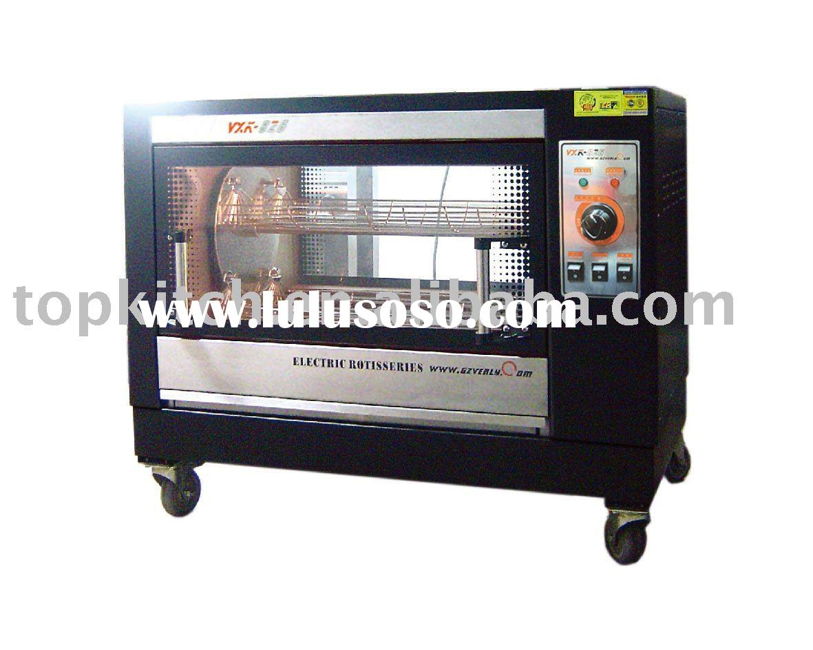 Electric Vertical Rotary Rotisserie