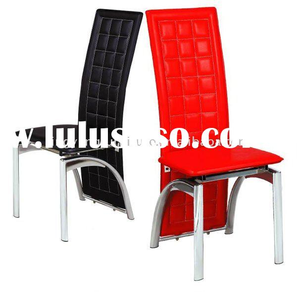 Elegant design and high quality chrome dining chair for home furniture c-58