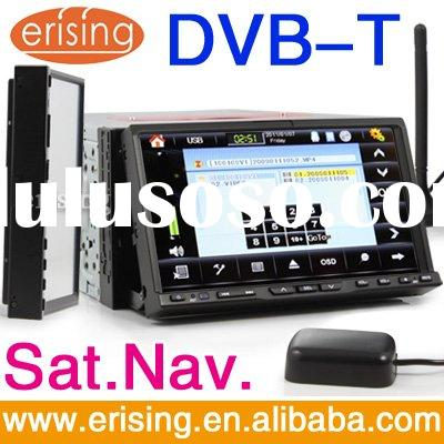 Erisin HD 7'' Car radio DVD GPS Detachable 2 Din DVB-T BT Touch Screen RDS 3D Rotati