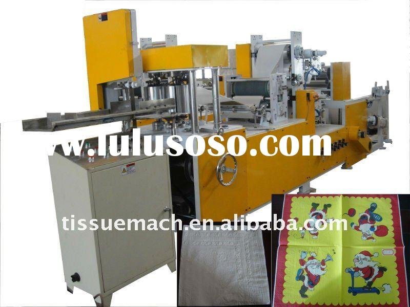 Full Automatic High Speed 7 Color Tissue Napkin Printing Embossing Machine