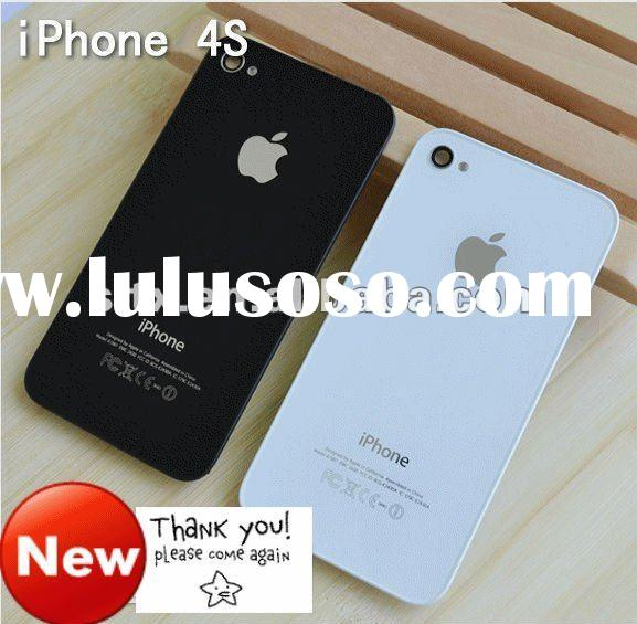 Full replacement parts for mobile i phone 4 s battery cover housing