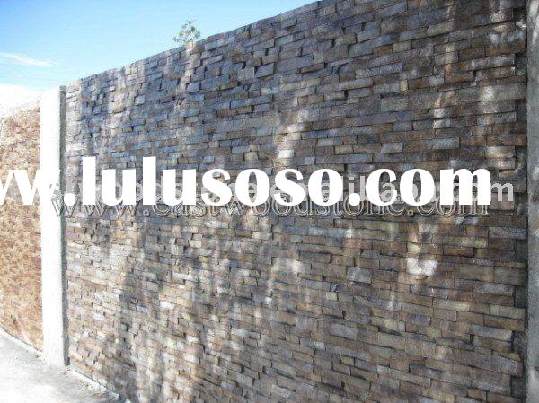 Good quality and color exterior decorative wall stone