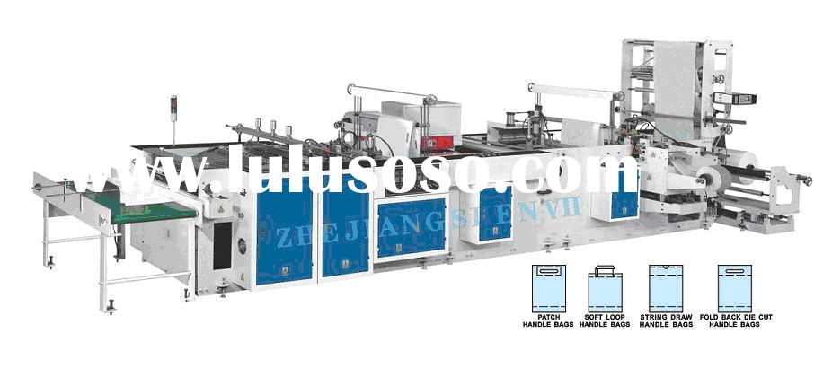 HB-C800 Soft Loop Handle Plastic Bag Machine
