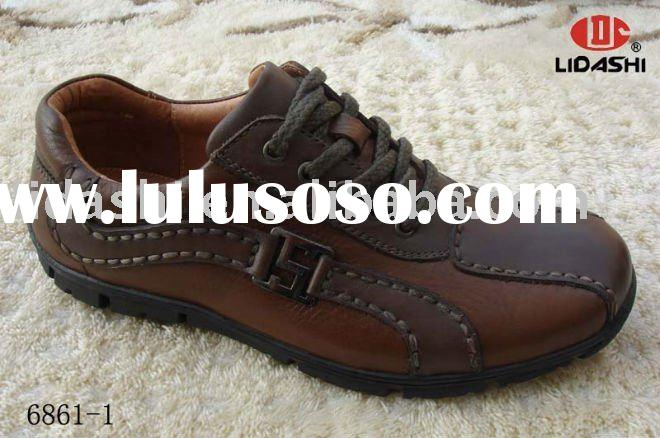 Handmade Fashion Man Casual Shoe Leather