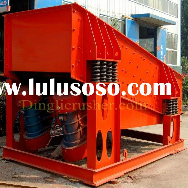 High Efficiency Vibrating Grizzly Screen Feeder used in Sandstone Production Line from Dingli