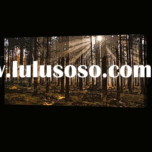 High quality Oil painting canvas forest of European taste