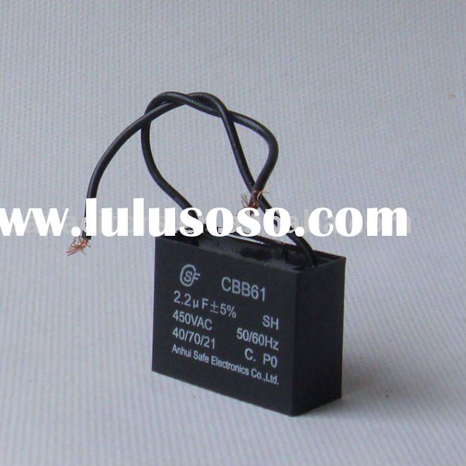 High quality electric fan capacitor CBB61