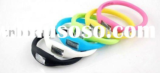 Hot Sale Silicone Wrist Watch with waterproof
