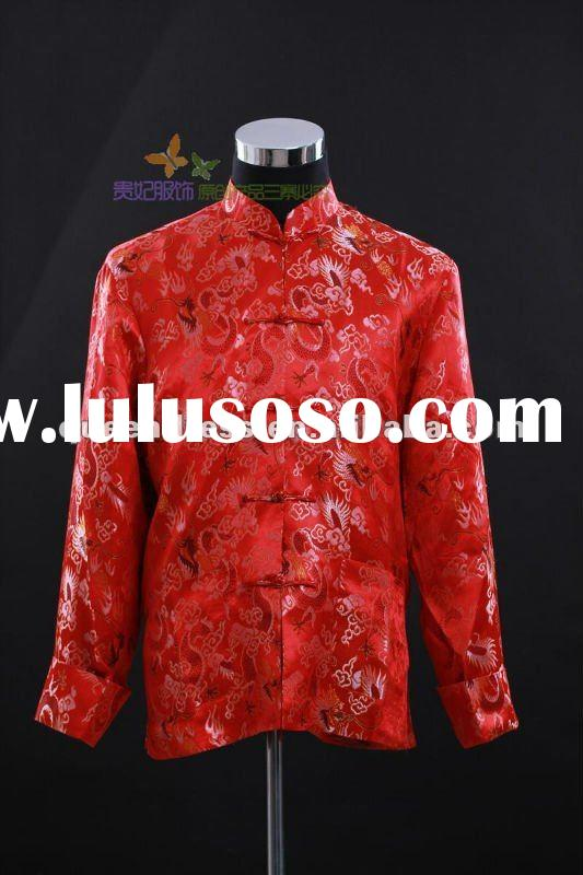 Hot-sale Chinese Traditional Tang Suit For Men In This Season