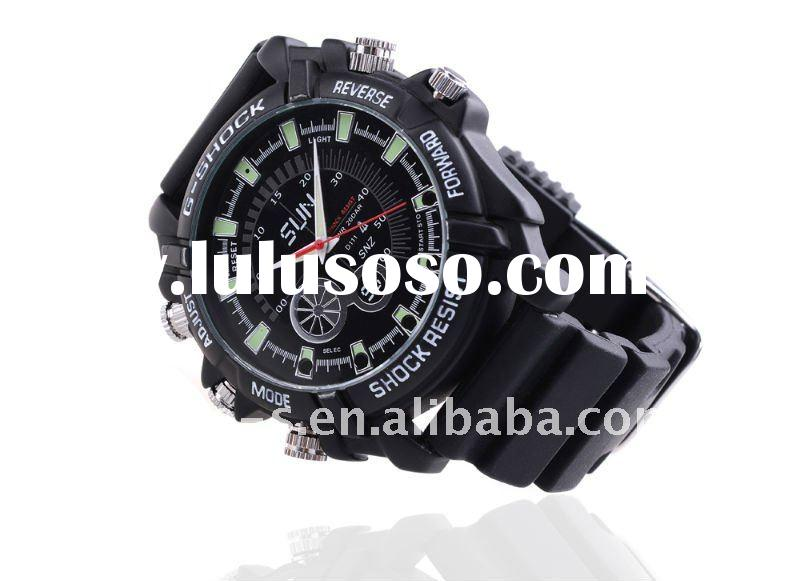 IR Night vision waterproof camera watch