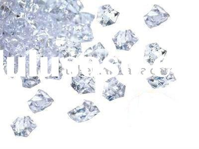 Ice Decorative Crystals Wedding Table Confetti Clear