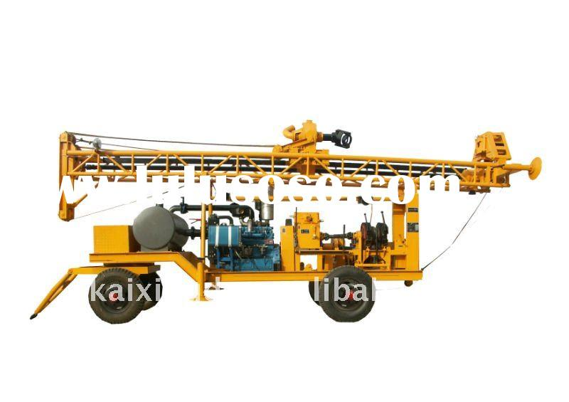 KXD-IIA(trailer) water well drilling rigs(Factory)