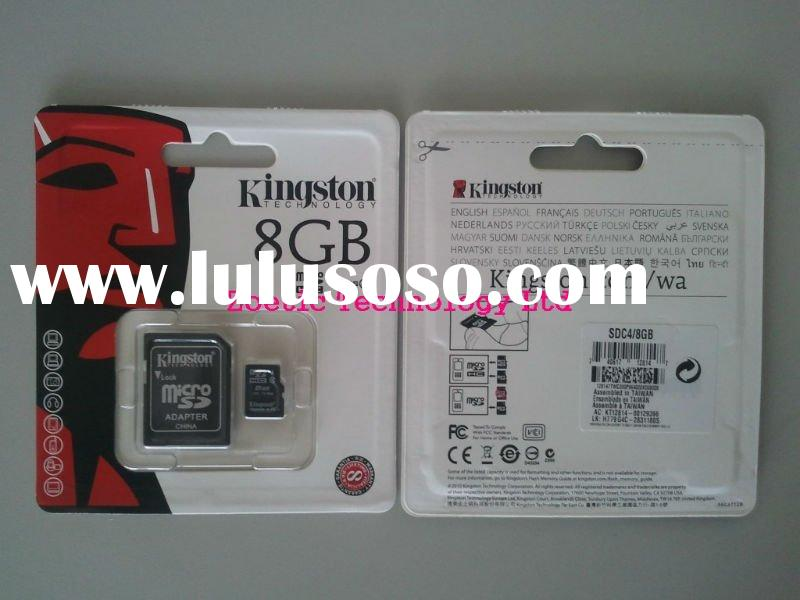 Kingston 8GB TransFlash( Micro SDHC) Class 4 ,mirco sd ,memory card # SDC4/8GB