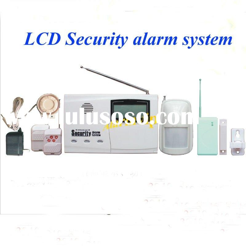 LCD display safety alarm security & protection