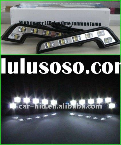 LED Light, LED DRL ,6pcs High Power LED Bulbs, Car Day Running Light GOYE-DRL-01