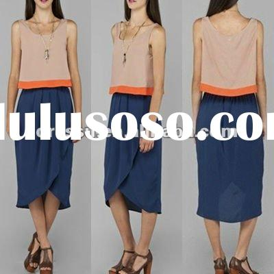 Long Chiffon Skirts, 2012 Fashion Skirt