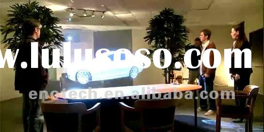 Low price of adhesive rear projection film/foil, shop window, display, bank, supermarket, shopping m