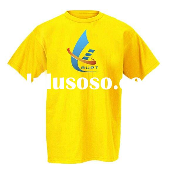 Low price printed promotional t shirts