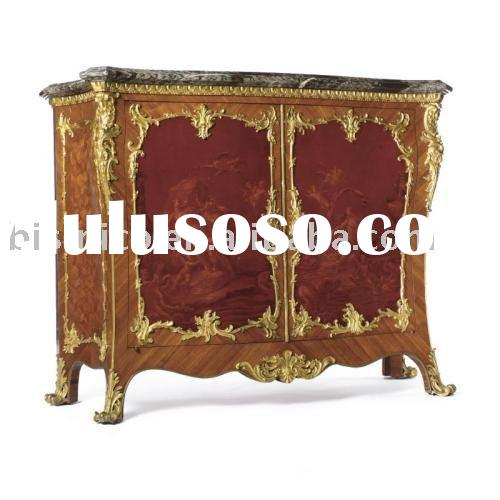 Luxury French antique marquetry chest/cabinet, sideboard, wooden chest