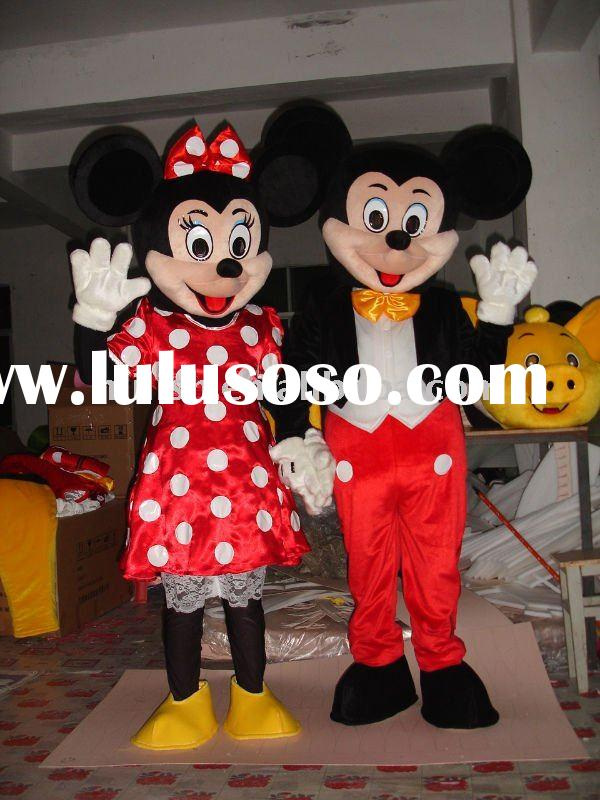 Mickey and Minnie Mouse Mascot costumes MAE-0023