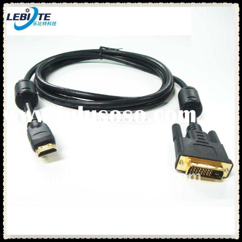 Mini HDMI to VGA Adapter Cable Male to Male Gold Plated