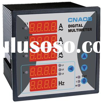 Multifunction meter multimeter 3-phase Current Voltage Frequency Combined Meter