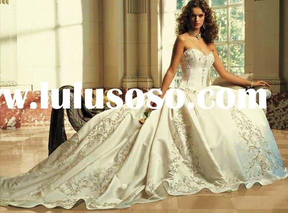 New Vintage Noblest Strapless Wedding Gowns