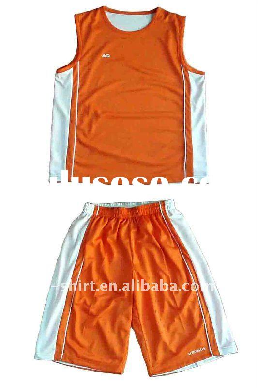 Newest Dry fit Basketball Jersey and Shorts, sports suit