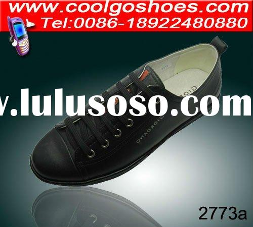 Newest top quality casual mens shoes with flat sole reasonable price