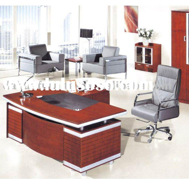 Office Furniture:New Style Modern wood executive modern table