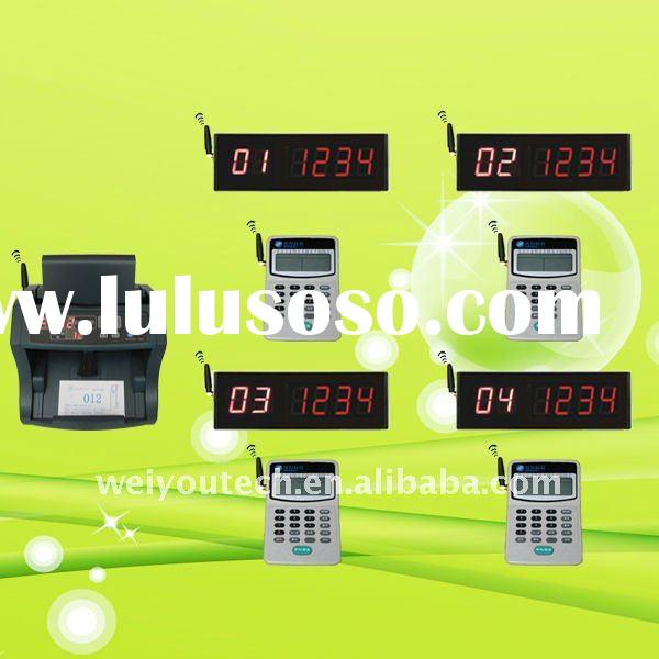 One service, multi counters Queue management system