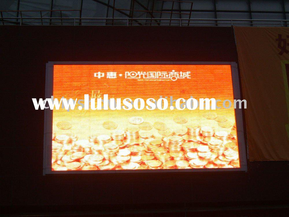 P10 full color Indoor led display video board