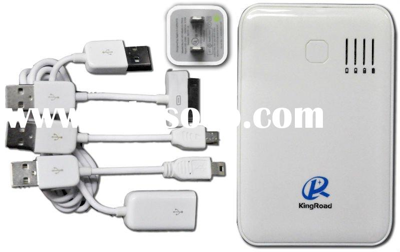 Portable mobaile phone chargers for iPhone/PSP/Digital Camera/Mobile Phone/DC/MP3/MP4/PDA//Game Boy