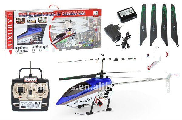 QS8005 Big size 3.5ch remote control helicopter (Gyro)