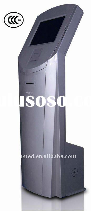Queue management system self-service ticket printer information kiosk EM800(hot!!!)