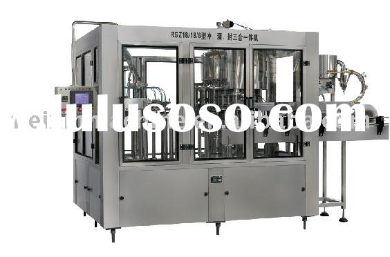 RCGF Series Automatic Bottle Juice Filling Equipment
