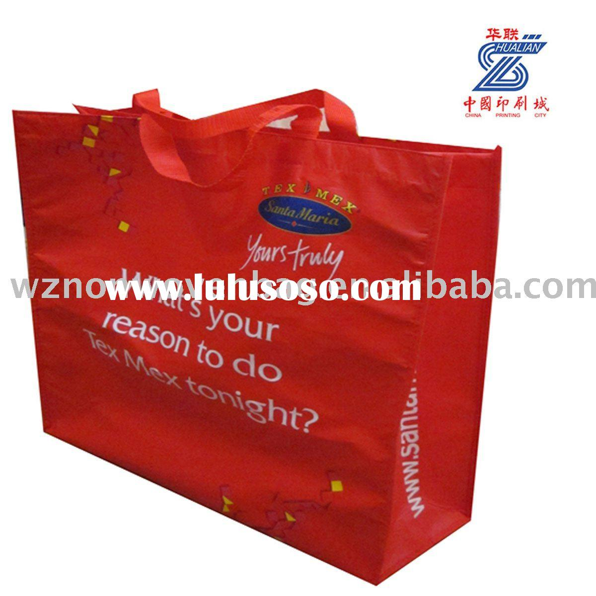 Recycle PP Laminated Non Woven Promotional Bag