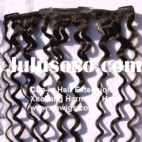 SUPER QUALITY kinky hair clip on extensions