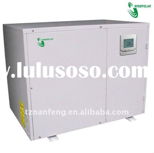 Split type water source heat pump
