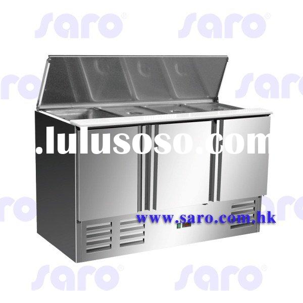 Stainless Steel Saladettes, Normal 35mm Wall, Sliding Top Series, AG003 REFRIGERATOR