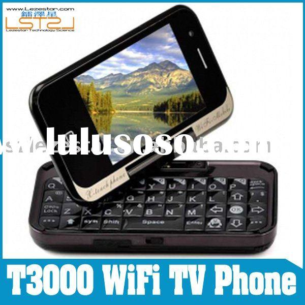 T3000 Flip Slide QWERTY Keyboard WiFi TV Phone